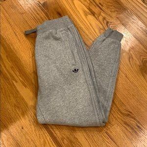 Adidas men's sweatpants medium gray